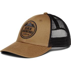 Black Diamond Low Profile Trucker Hat, dark curry-black